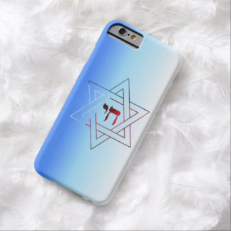 Super Elegant Star of David  & Chai Barely There iPhone 6 Case