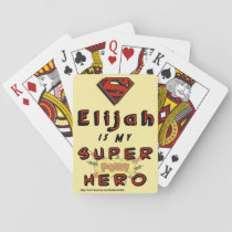 Super Eli Playing Cards