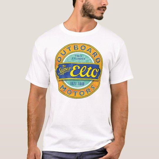 Super Elto vintage outboard motor sign T-Shirt