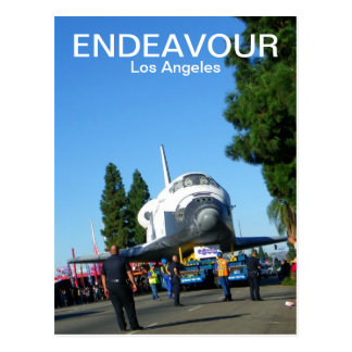 Super Endeavour/Los Angeles Postcard! Postcard