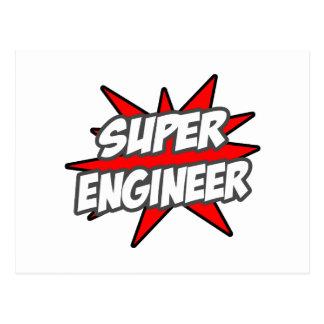 Super Engineer Postcard