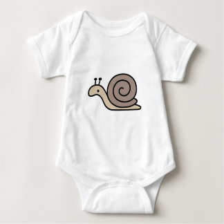 Super Exciting Snail Baby Bodysuit