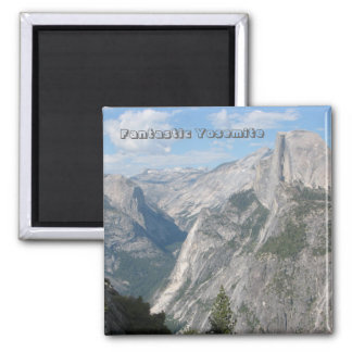 Super Fantastic Yosemite Magnet! 2 Inch Square Magnet