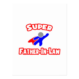 Super Father-In-Law Postcard