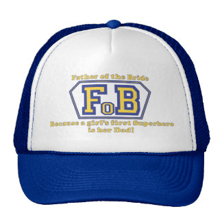 Super Father of the Bride Trucker Hat