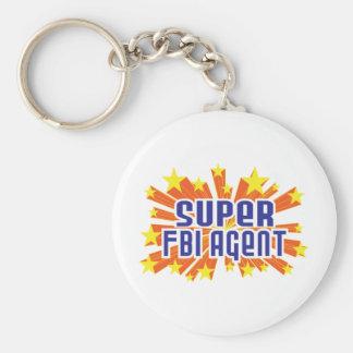 Super FBI Agent Key Chains