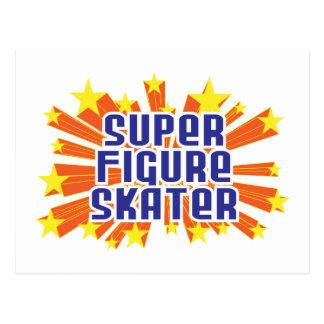 Super Figure Skater Post Card