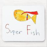 Super Fish! Mouse Pads