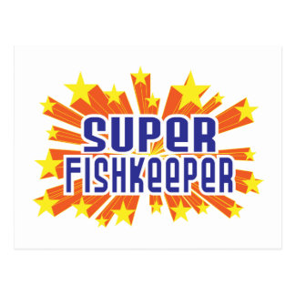 Super Fishkeeper Postcard