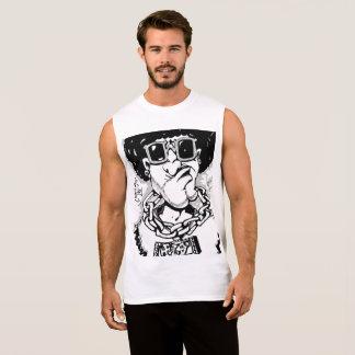 Super Fly Afro Guy Sleeveless shirt