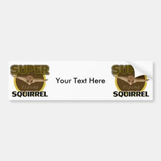 Super Flying Squirrel Bumper Sticker