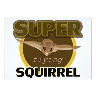 Super Flying Squirrel Card