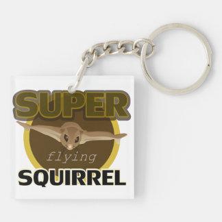 Super Flying Squirrel Keychain