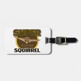 Super Flying Squirrel Luggage Tag