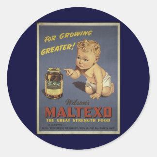 Super Foodstuffs Classic Round Sticker