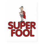 Super Fool Postcard
