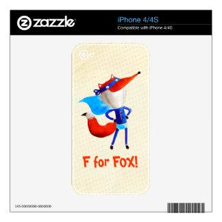 Super Fox iPhone 4 Skin