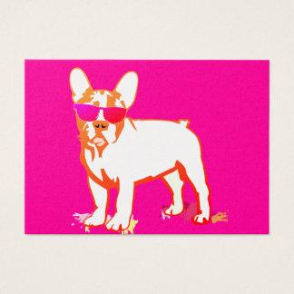 Super Frenchie Bulldog Business Card