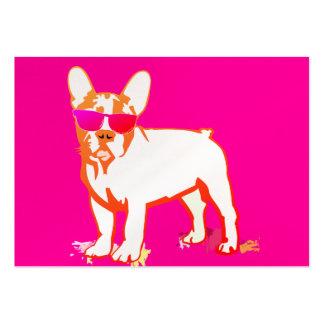 Super Frenchie Bulldog Large Business Card