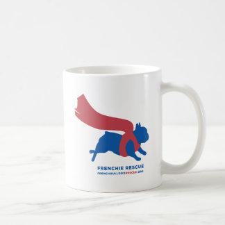 Super Frenchie Classic White Coffee Mug
