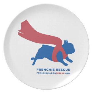 Super Frenchie Dinner Plate