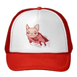 Super Frenchie has arrived for your rescue Trucker Hat