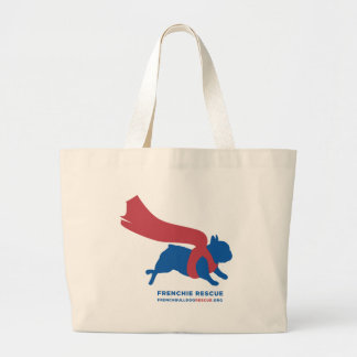 Super Frenchie Large Tote Bag