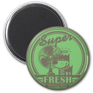 SUPER FRESH FRIDGE MAGNET