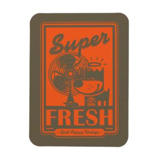 SUPER FRESH VINYL MAGNET