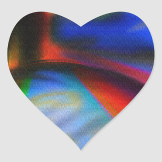 Super Friends Unite Heart Sticker