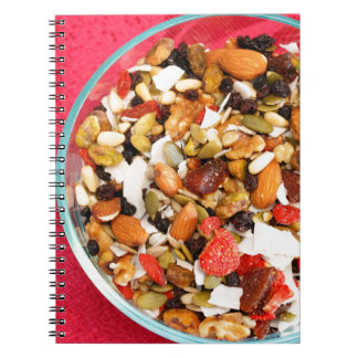 Super Fruit and Nut Mix Notebook