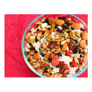 Super Fruit and Nut Mix Postcard