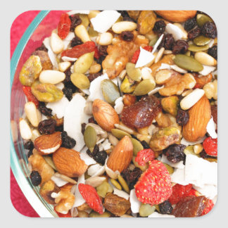 Super Fruit and Nut Mix Sticker