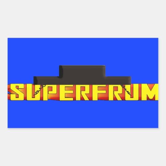 Super Frum Rectangular Sticker