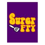 Super Fry (Funny Blaxploitation) Post Card