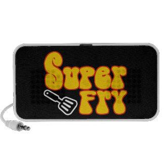 Super Fry (Funny Blaxploitation) Portable Speaker