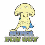 super fun guy fungi mushroom cut outs