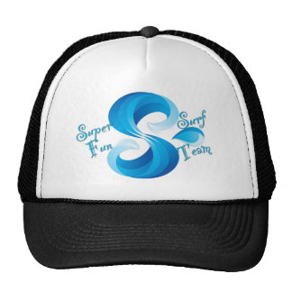 Super Fun Surf Team Dome Protection Trucker Hat