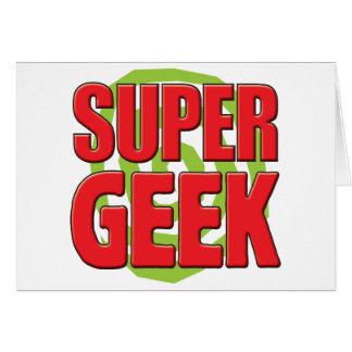 Super Geek Greeting Card