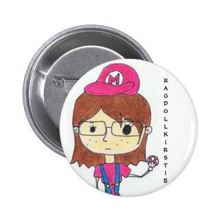 Super Geek Girl 2 Inch Round Button