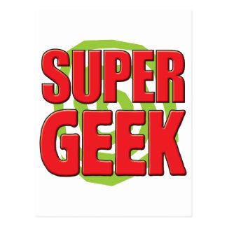 Super Geek Post Card