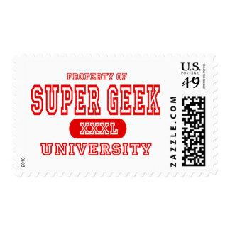 Super Geek University Stamps