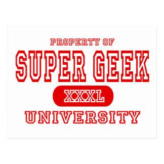 Super Geek University Postcard