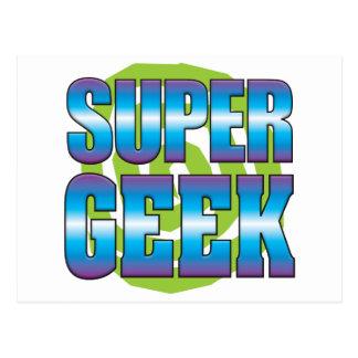 Super Geek v3 Postcard