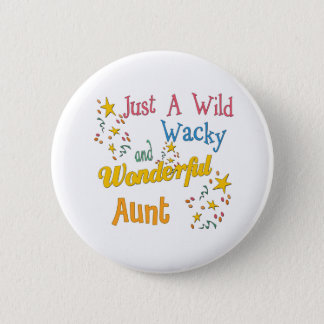 Super Gifts For Aunts Pinback Button