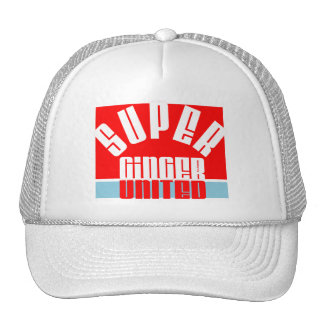 Super Ginger United Trucker Hat