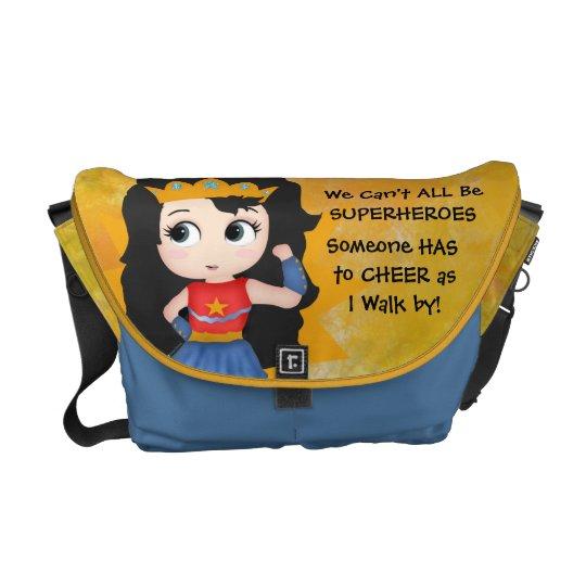 Super Girl Rickshaw Messenger Bag
