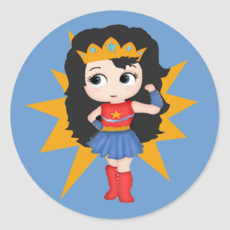 Super Girl Stickers