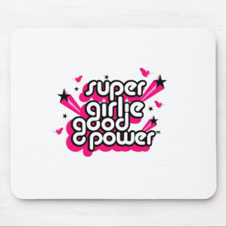 Super Girlie Good Power Mouse Pads
