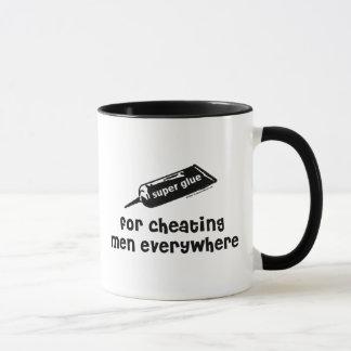 Super Glue For Cheating Men Mug